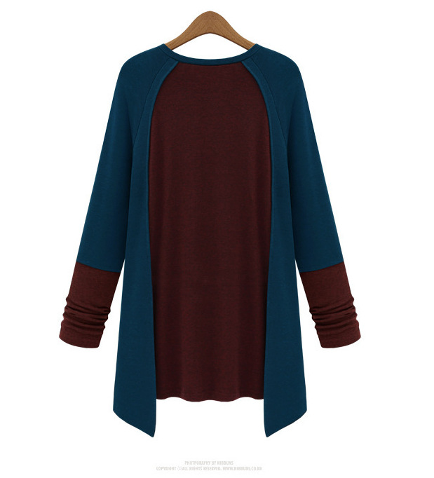 New Arrival Casual Vintage Style O-neck Broadcloth Cotton Full Appliques Solid Women Shirts Tops T-shirts 2 Colors Plus Size