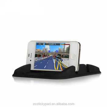 Car Silicone Pad Dash Mat Cell Phone Mount Holder Cradle Dock In Car