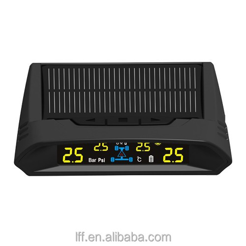 Solar power colorful LCD display car TPMS, Tire pressure monitor system
