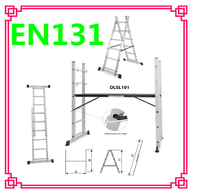Professional ladders manufacturer multi-purpose ladder used construction scaffolding