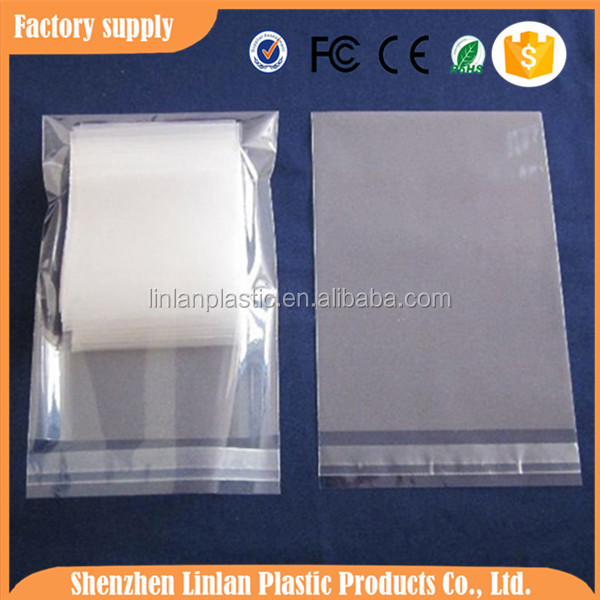 HOT!!!high quality large resealable t-shirts plastic bags plastic bag packaging clothing