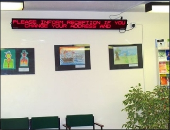Buy Indoor Multi Line LED Displays Products