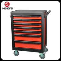 Made in China Hot Sale in Europe Metal Tool Box with Wheels