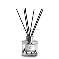 Modern Classics Round Glass Bottle Scented Oil Reed Diffuser