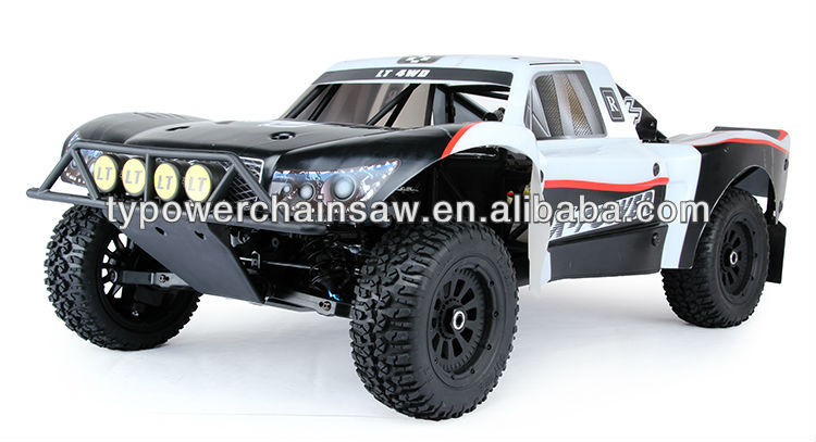 New style 1/5 scale RC car 26CC 4 bolt engine with Walbor and NGK Rovan 275LT 4wd truck