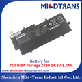 Laptop spare parts replacement battery for TOSHIBA Portege Z830 14.8V 3.0Ah