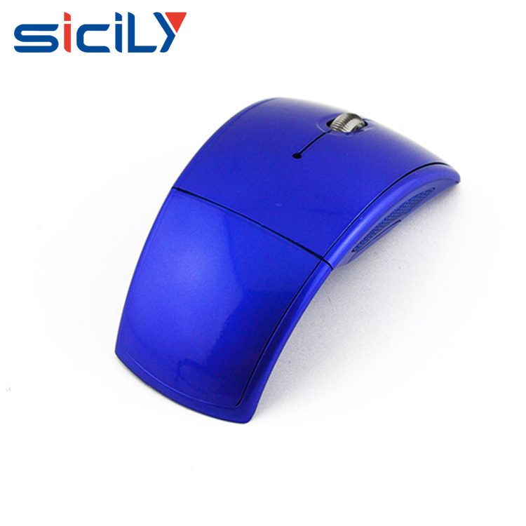Mouse with water transfer printing full color logo