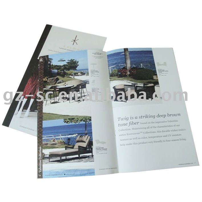 High Quality Advertising Brochure Printing Service