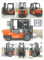 New China Mini Diesel Forklift Truck 3.5tons for Sale CPCD35 Forklift 3.5tons