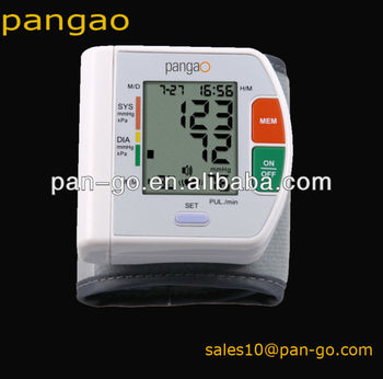 Digital wristech talking blood pressure PG-800A5