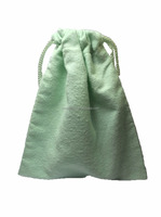 Flannel Drawstring Jewlery Pouch Bag