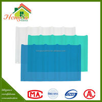 China low price corrosion-resistant light transparent roofing shingle