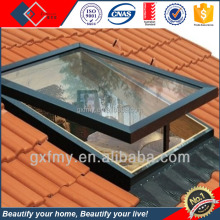 high quality aluminum roof window,top hinged roof window