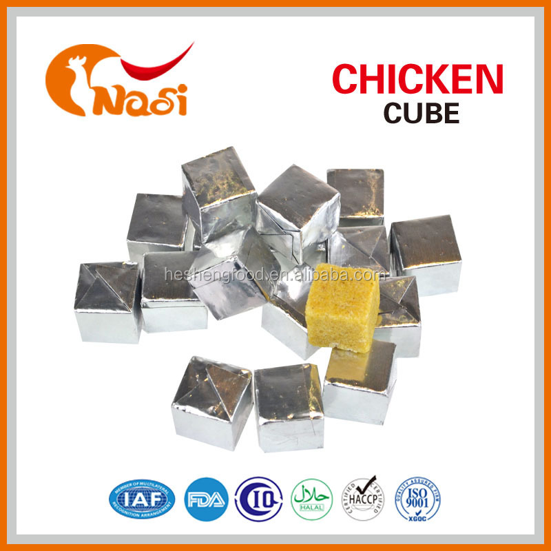 Nasi beef flavor halal chicken cube for sale