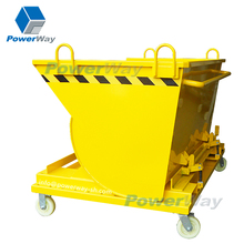 powerway brand Scrap, Chips and Waste Portable Steel Dump Trucks