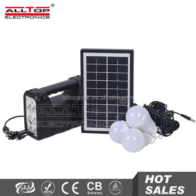 Dual axis mini project whole house 6v solar power system