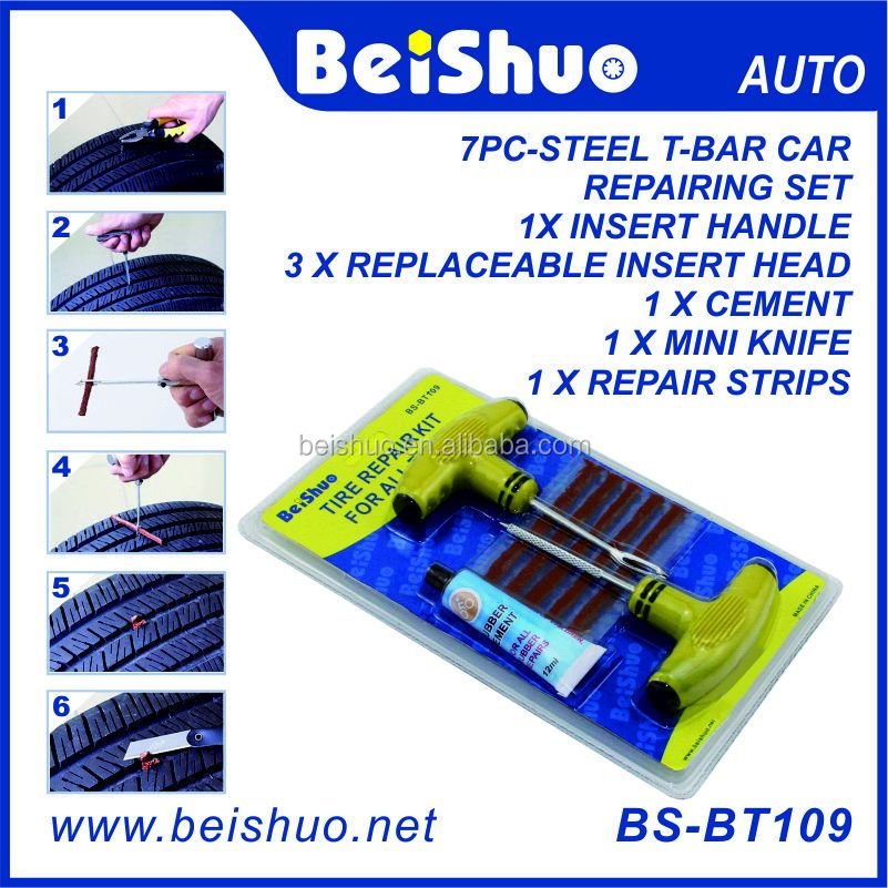 Used Tire/Tyre Repair Kit Equipment For Car Auto Truck Tire Repair Tool Kit