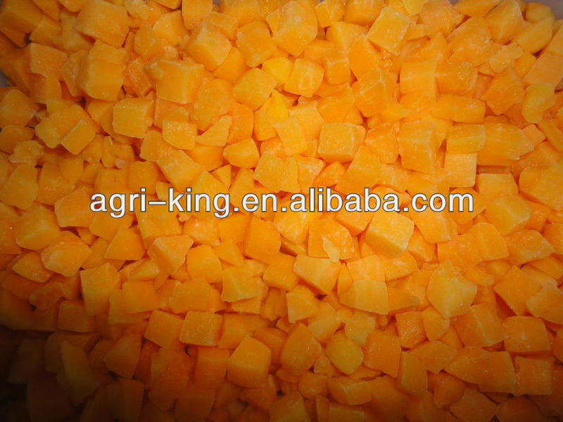 wholesale freezing high quality diced pumpkin