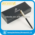 Quality metal twist slim pen silver pen