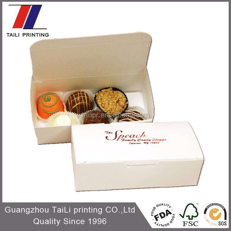 Good quality packaging boxes chocolate truffles