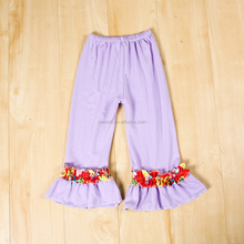 Baby girl remake pants children big ruffle leggings girl spring girls boutique pant