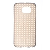 Mobile phone case cross stitch TPU Mesh case for Samsung galaxy S6