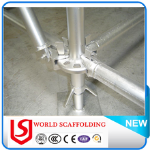 Steel Metal Ring lock Scaffolding System / Ringlock Scaffolding for suspended