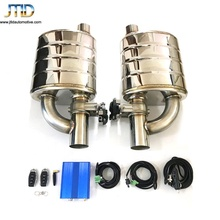 Hot Sale Made in China performance exhaust system Valvetronic Muffler With The Exhaust Cutout Valve