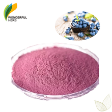 Blue berry juice concentrate powder bulk anthocyanin freeze dried blueberry powder
