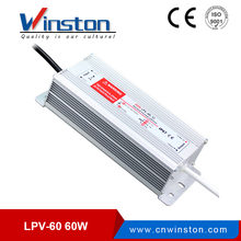 LPV-60 IP67 Waterproof LED 5A 12V 24V 60W Single Output Power Supply Switching