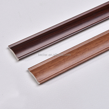 PVC crown moulding Vinyl ceiling line Rubber corner moulding Plastic Angle moulding for Modern house decoration