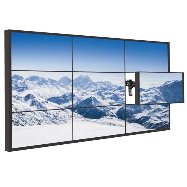 Ergonomic Video Wall Mount for Flexable LED Board Display Screen
