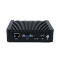 cheap Intel mini pc J1900 quad core ubuntu fanless 12v mini pc server industrial computer