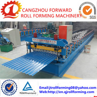 4 year warranty color steel high quality metal steel roofing sheet cold roll forming machine