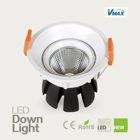 high quality round shape COB chip LED Down light/LED Downlight 13W with Isolation Power