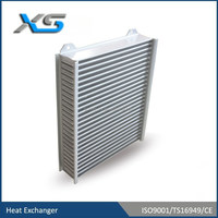 aluminum tube fin intercooler core for vehical ,racing sports car