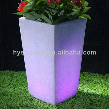 waterproof LED Vase