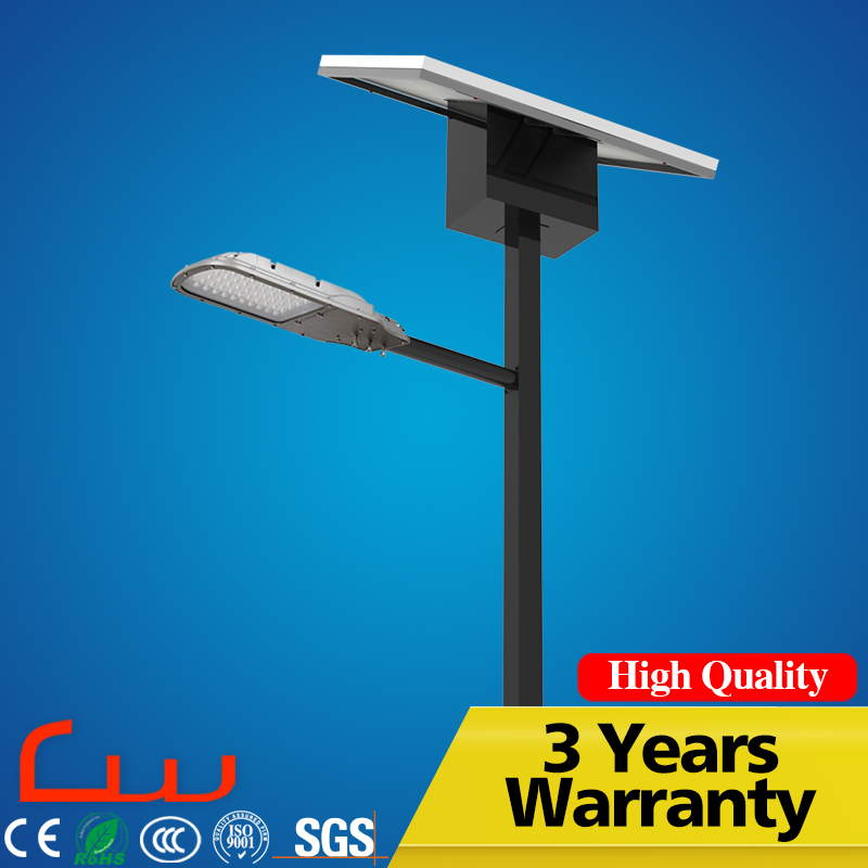 Polycrystalline solicon 8M solar power LED energy street light pole