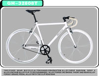 700c cheap price WHOLE WHITE RACE colorful fixed gear bike