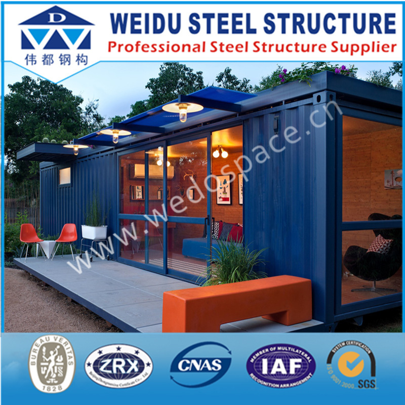 High Quality Convenient Prefab Container Living Homes