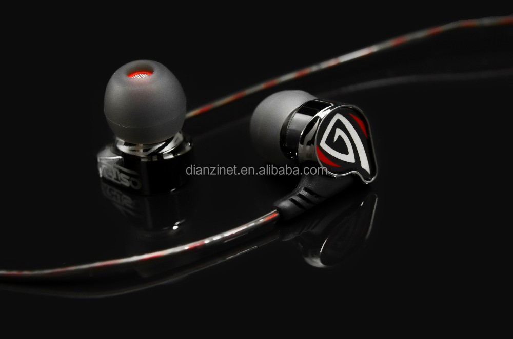 High Quality from factory popular inner-ear HIFI Earphone KC06A