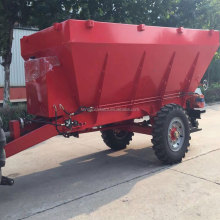 Trailer type fertilizer spreader for the tractor