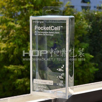 Custom Design plastic PET cell phone accessories retail packaging With printing