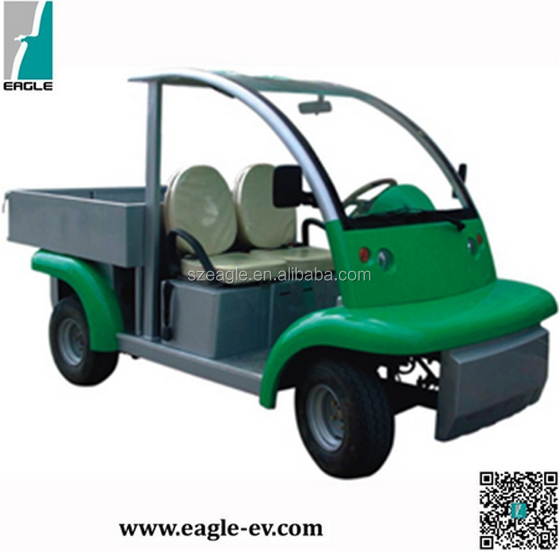 Electric utility vehicle, 2 seat electric burden carrier, electric cargo car, EG6043KDX