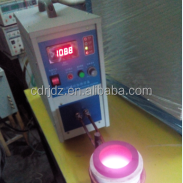 500g to 1kg Gold/silver induction melting furnace