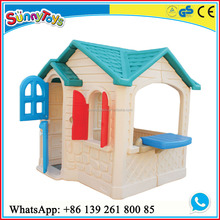 Outdoor/indoor playground cheap plastic playhouses for kids