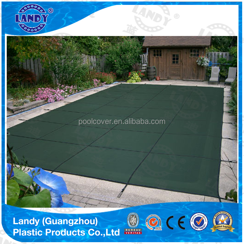 swimming pool safety cover, pp material