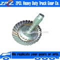 High quality Low NoiseGear Grinding Rear Axle Spiral Bevel Gears