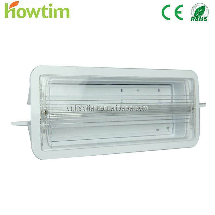 fire resistant led fluorescent tube emergency light rechargeable