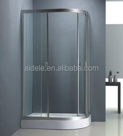 prefab ABS tray simple small shower enclosure